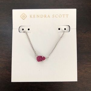 Kendra Scott Amethyst Drusy Helga Necklace